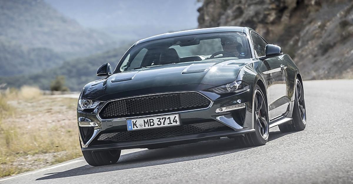 V8-Power: Der Bullitt-Mustang bringt Sie so weit weg vom E-Auto wie möglich
