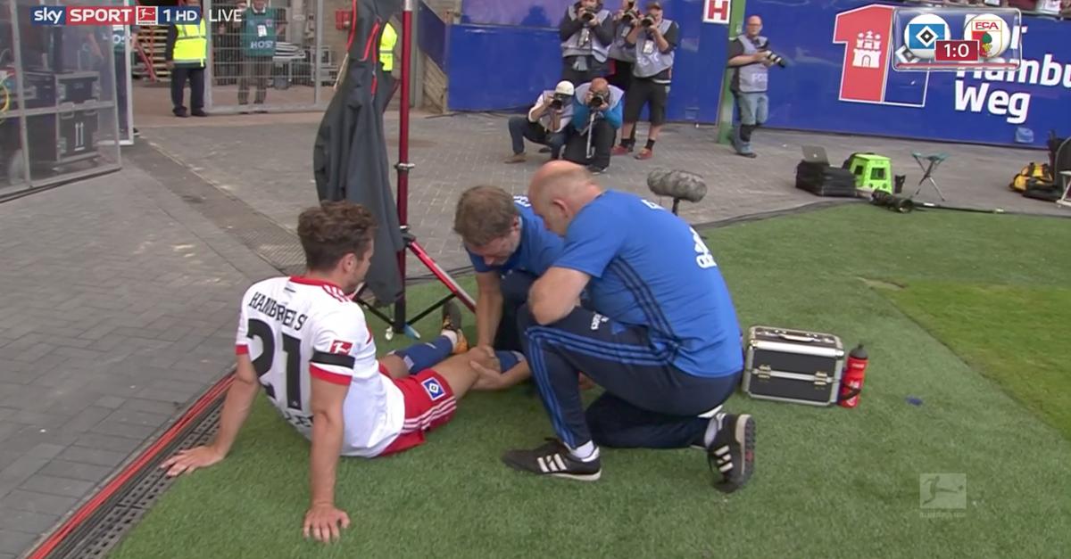 Große Geste des HSV für schwer verletzten Pechvogel Nico Müller