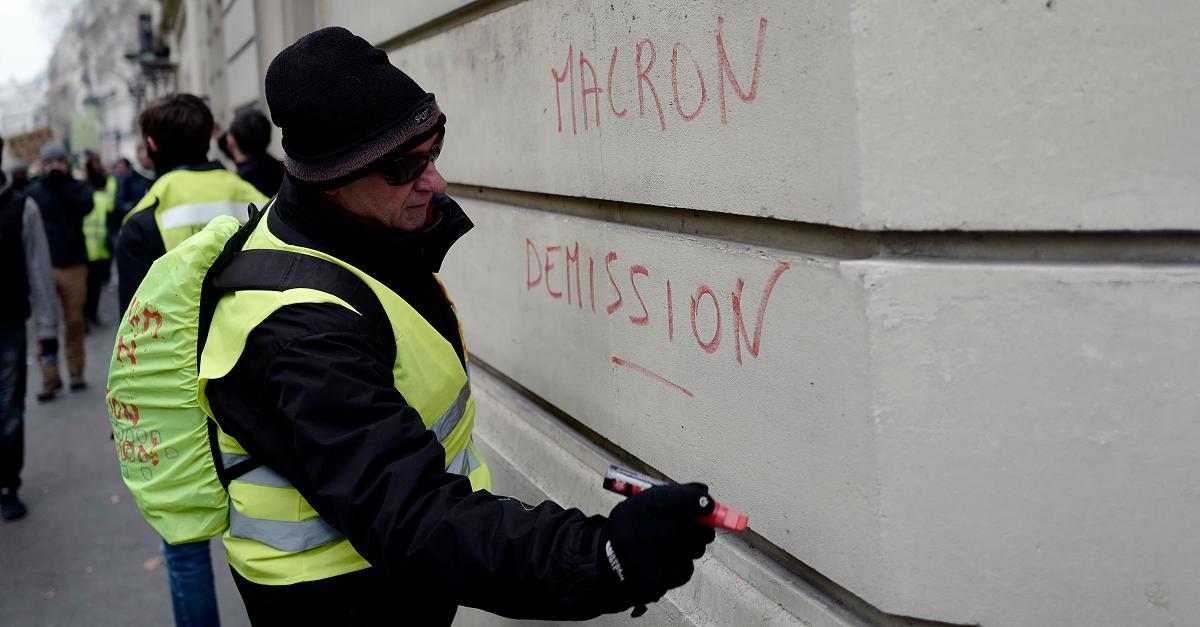 Trotz Angriff auf Weihnachtsmarkt: Gelbwesten protestieren erneut - schon 30 Festnahmen