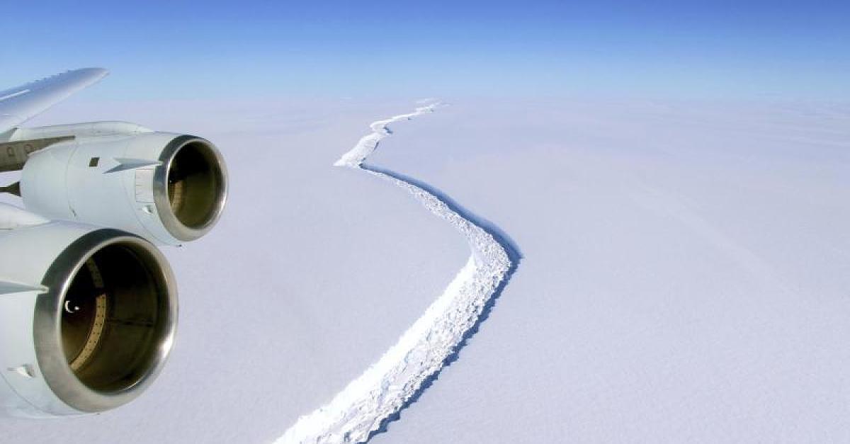 Einzigartig - Eisberg in der Antarktis legt 120.000 Jahre alte Meeresregion frei