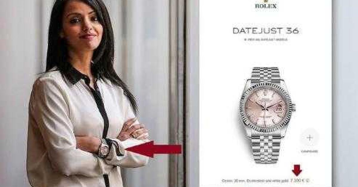 SPD-Frau Sawsan Chebli trägt Rolex und spaltet damit die Meinungen in sozialen Medien