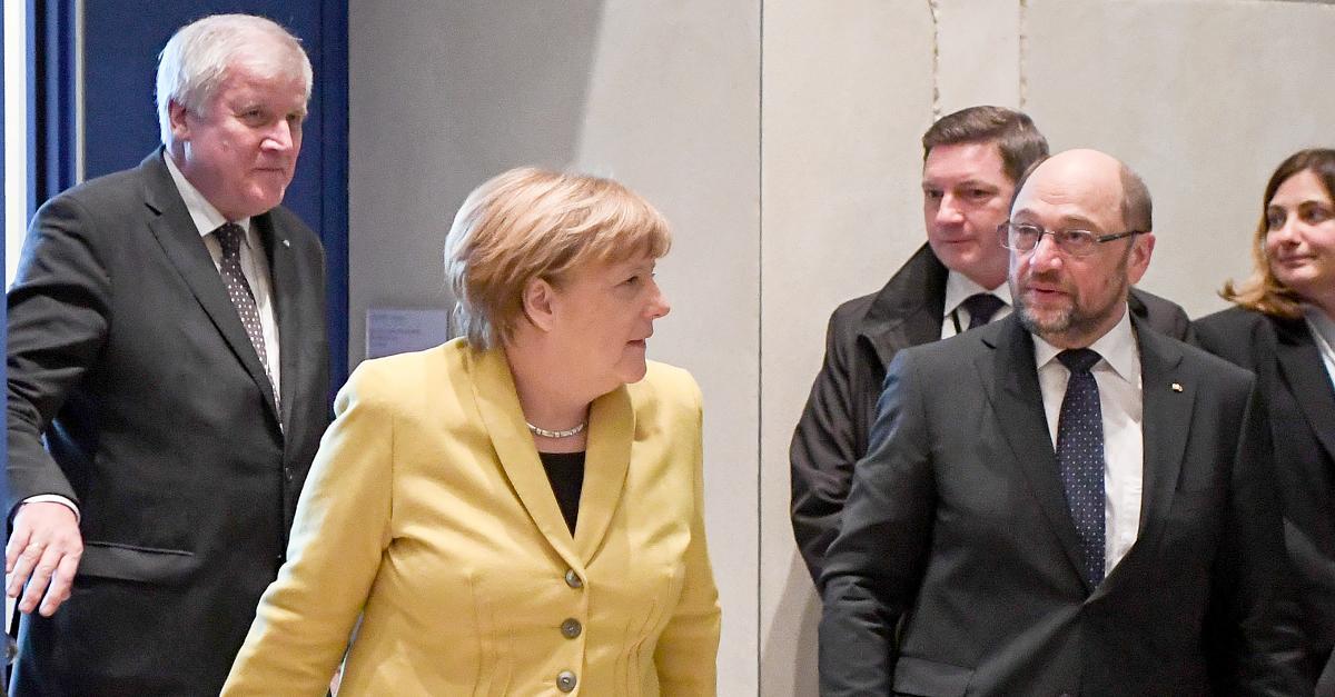 Passierte einem Kanzler schon einmal: Drängt SPD Union dazu, Merkel fallenzulassen?