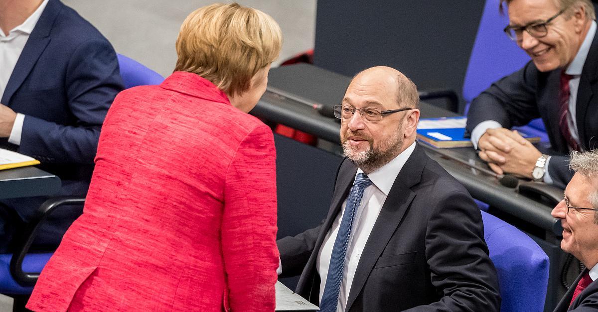Die GroKo ist für Schulz unausweichlich – aus einem bestimmten Grund