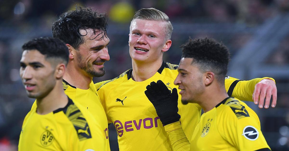Fünf Tore, Fünf Mal die Bestnote: Dortmund zaubert und Haaland begeistert