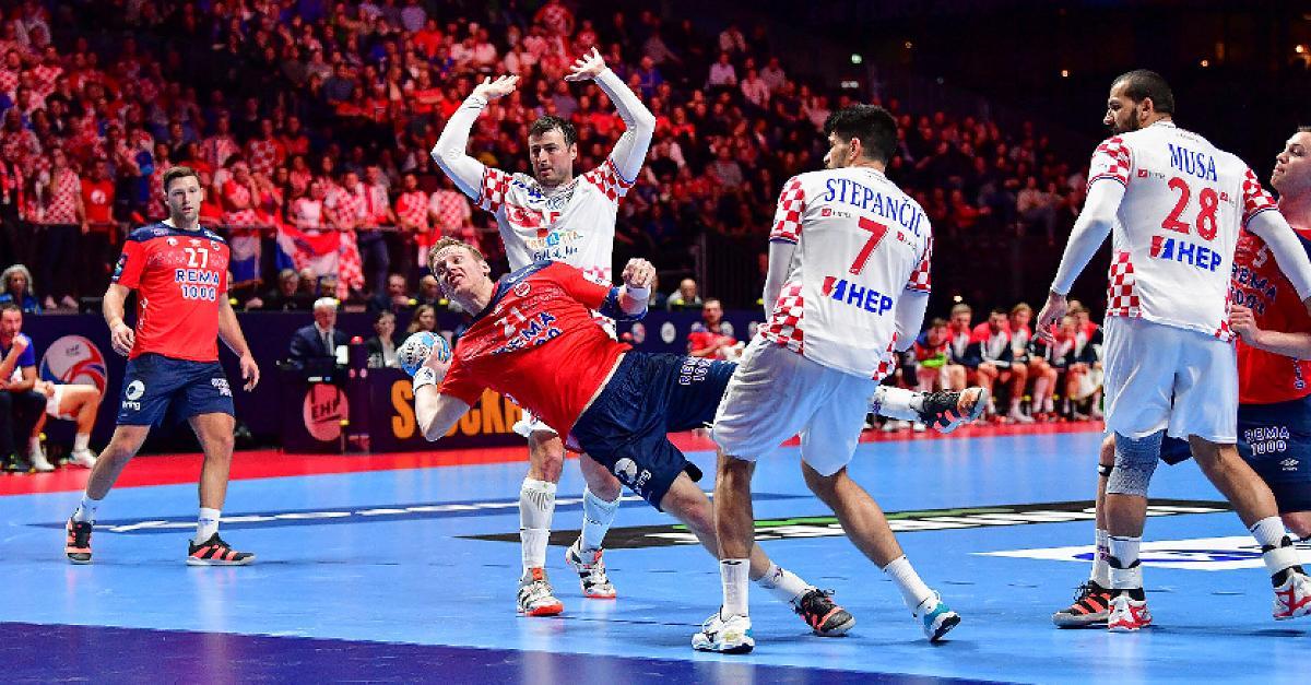 Fünf Sekunden vor Schluss! Kroatien ringt Norwegen nieder
