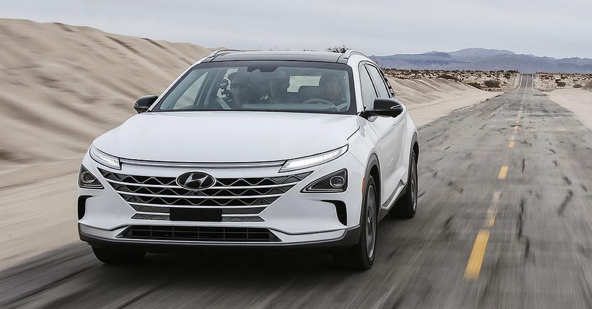 Sowas kann Deutschlands Autoindustrie nicht: Neues Brennstoffzellen-SUV im Test