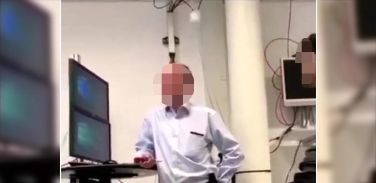 Videos zeigen, wie Spuck-Lehrer schikaniert wird